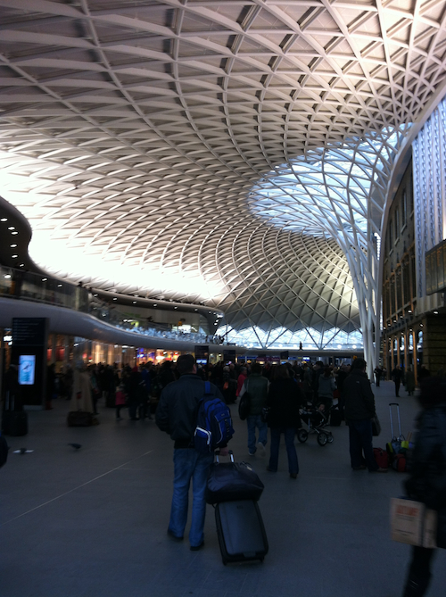 Home sweet... wait I am in King's Cross, right? Great, like I wasn't confused enough.